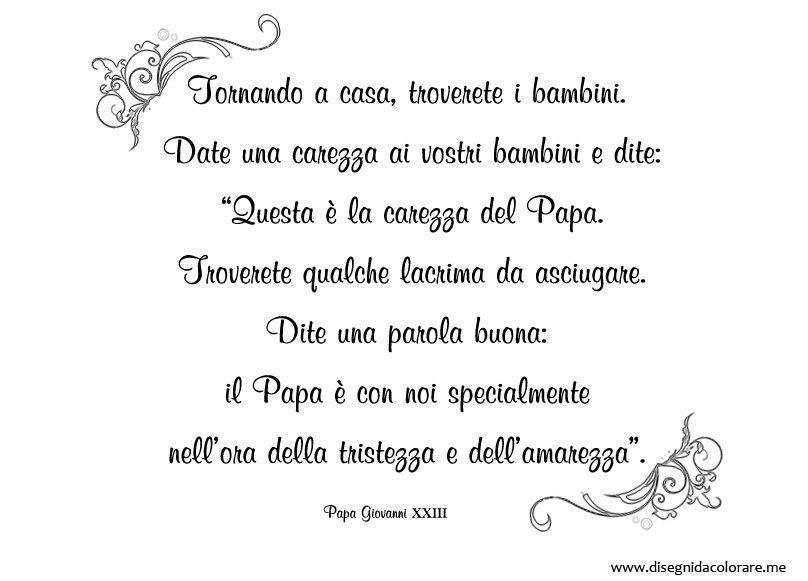 Frase Di Papa Giovanni Xxiii Da Stampare Disegni Da Colorare