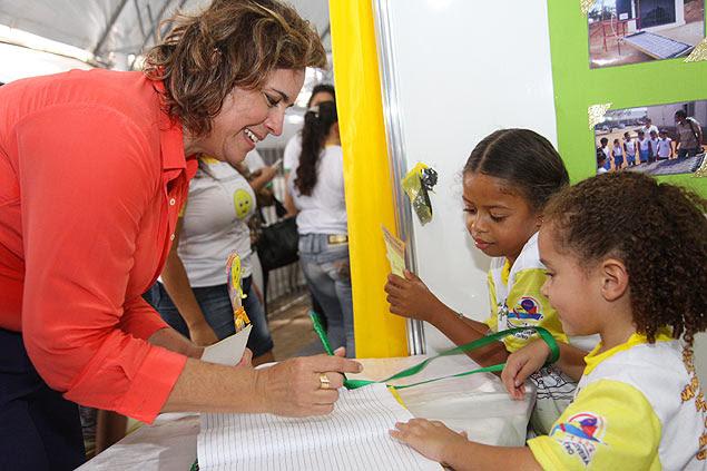A prefeita de Mossoró (RN), Cláudia Regina (DEM)