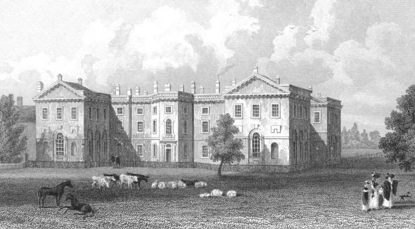 Clumber House in 1808