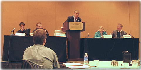 Panel called CSI Spyware: Can Investigators Stay Ahead of the Bad Guys.