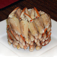 English: Cocktail Claw crab meat from Blue Swi...