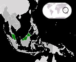 Malaysia (dark green) / ASEAN (dark grey)