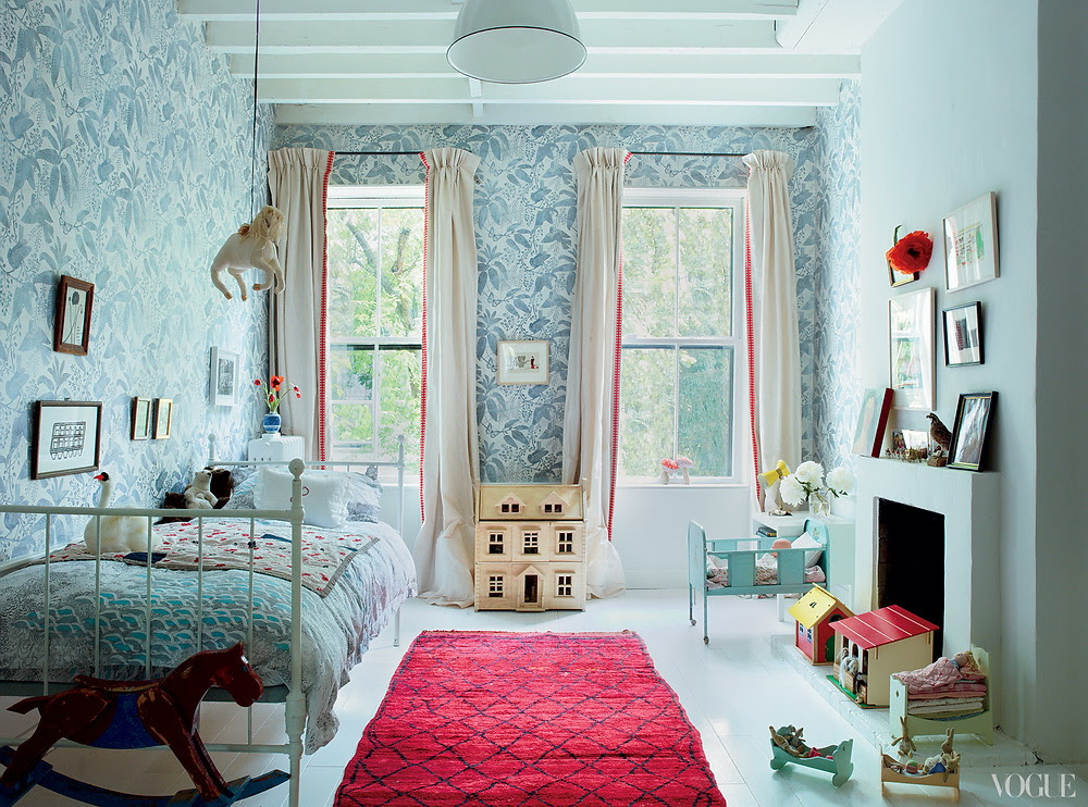Vogue American Pastoral Miranda Brooks and Bastien Halard's Brooklyn Home 8