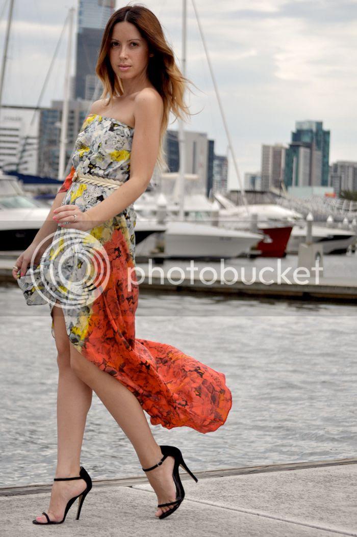 Summer Maxi Dress on Friend in Fashion