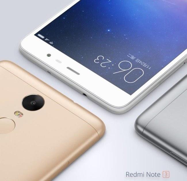 Xiaomi Redmi Note 3 Kimovil Xiaomi Laz