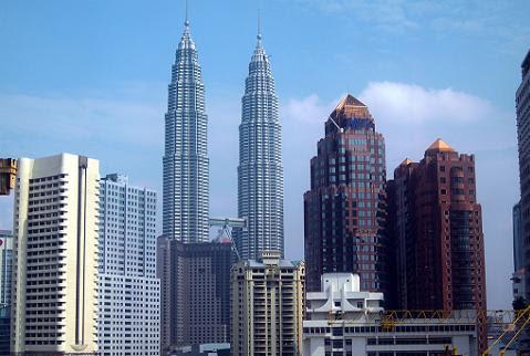kuala lumpur skyline Las 10 ciudades con más rascacielos del mundo