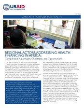 Health Care Financing African Strategies For Health