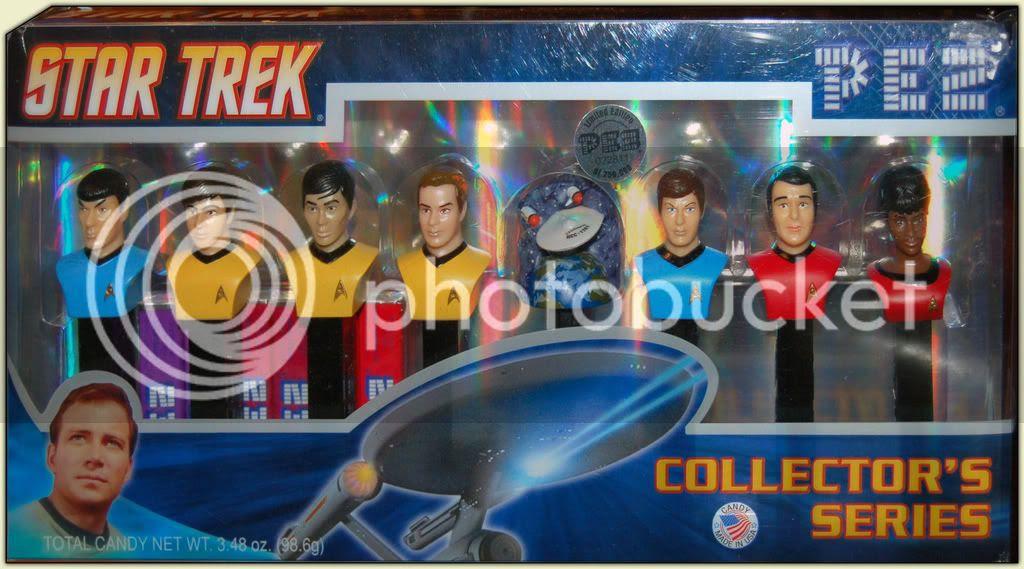Star Trek Pez