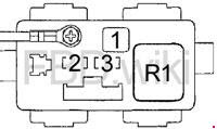 Acura Tl 1999 2003 Fuse Box Diagram
