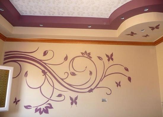 ديكورات طلاء الجدران بالصور Hayit Blog