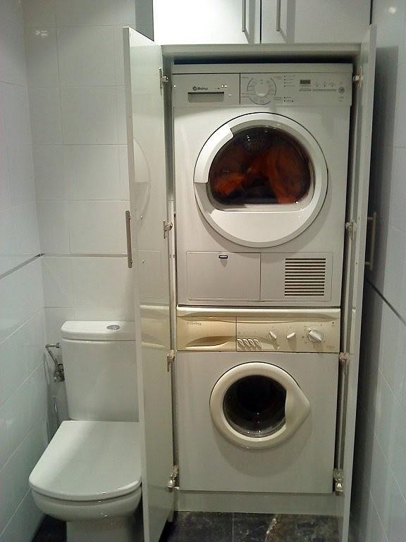 Dormitorio muebles modernos armario para lavadora y secadora - Armario para lavadora ...