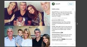 Alexandre Correa, marido de Ana Hickmann, faz post em homenagem ao irmão, que defendeu a apresentadora em atentado em Belo Horizonte (Foto: Reprodução/Instagram)