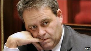 French Health Minister Xavier Bertrand. File photo