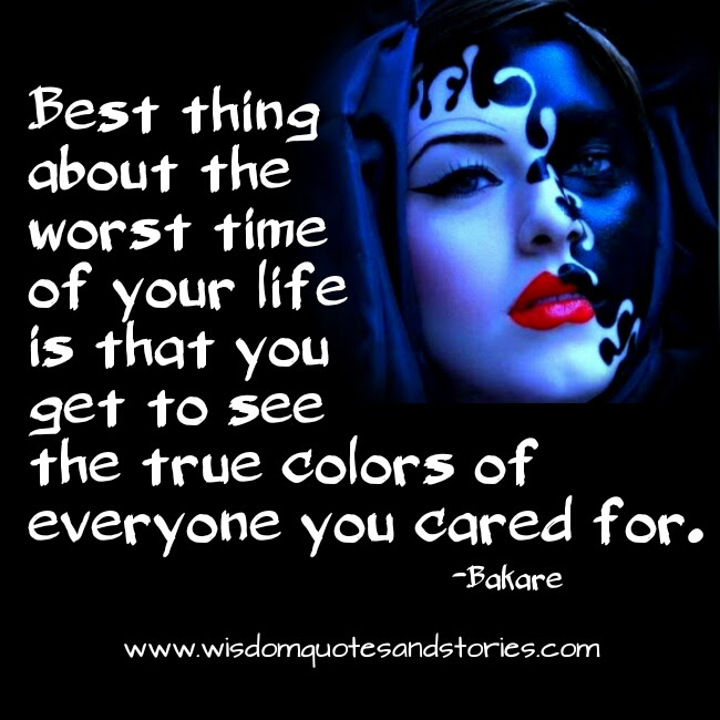 Best Thing About The Worst Time Of Your Life Wisdom Quotes Stories