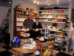 John and Kit, owners of Churchmouse Yarns and Teas
