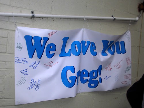 We love you Greg!