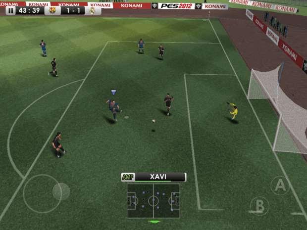 PES 2012 para iOS (Foto: Divulgação)
