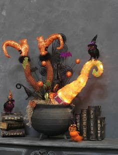 RAZ Autumn & Halloween Decorations #trendytree #raz #halloween
