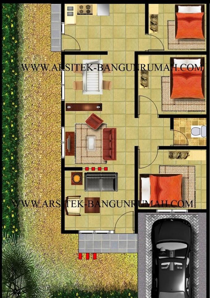 Dana Rumah Minimalis 3 Kamar   Ide Rumah Minimalis