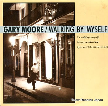 MOORE, GARY walking by myself