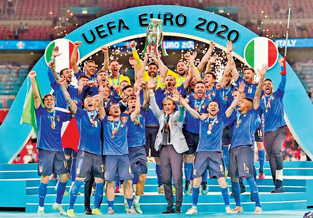 Italy wins Euro Cup after 53 years England's heartbreak in a penalty shootout