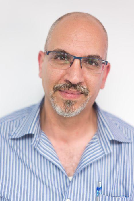 Hybrid co-director Fadi Swidan. Photo by Liya Rodriguez Alonim