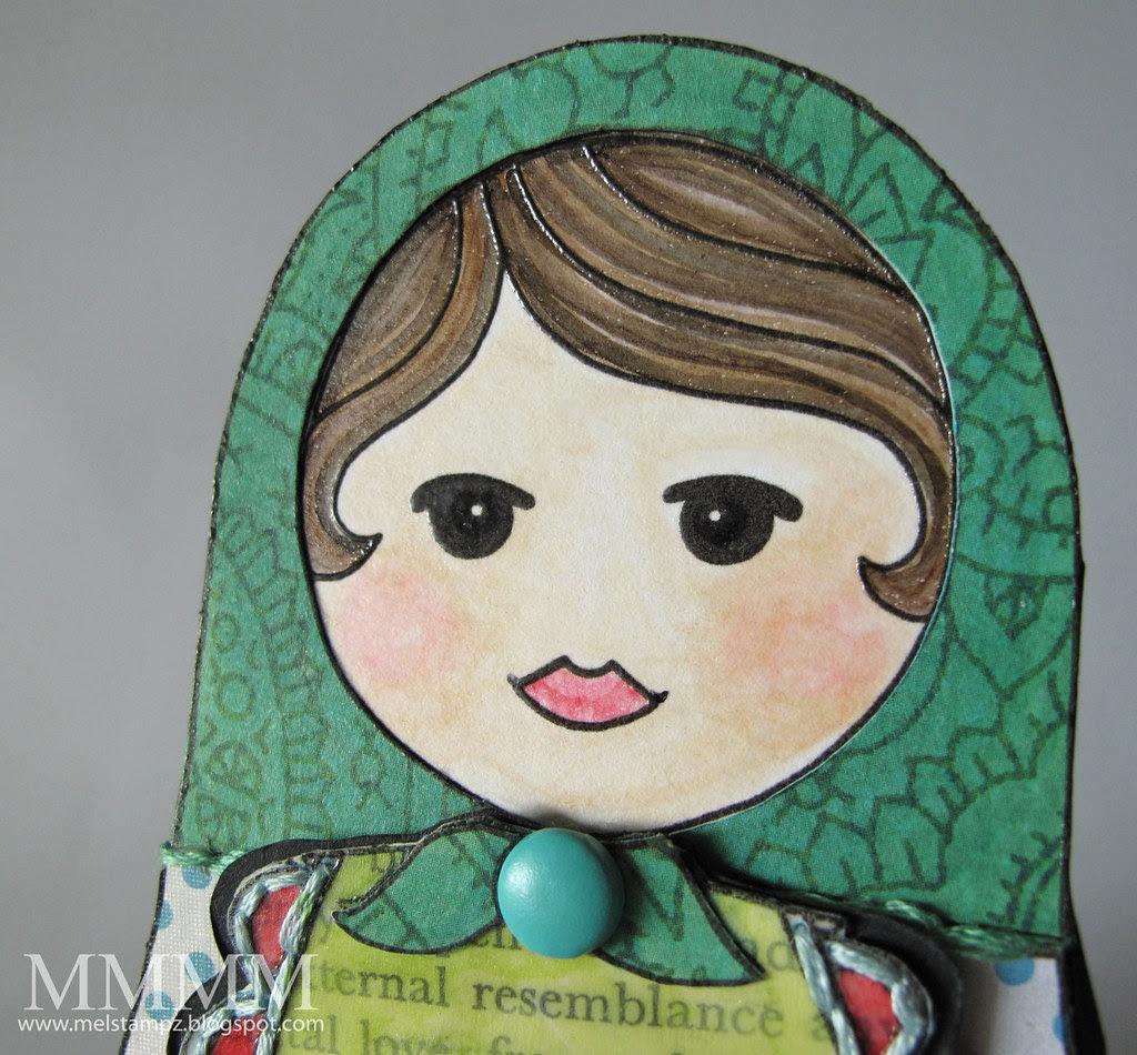 Mommy Matrushka Smile Squigglefly digi mel_stampz