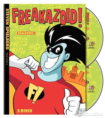 Freakazoid - Season 2 Box Art