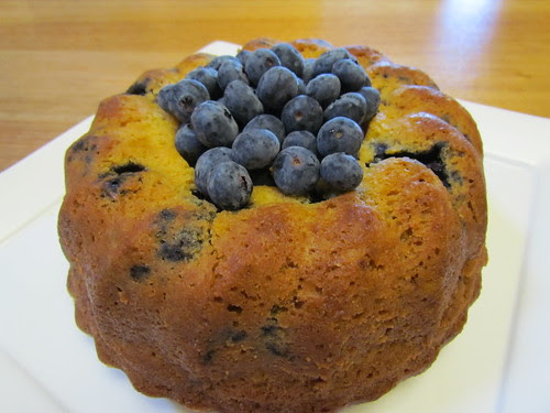 Blueberry Orange Bundt Cake