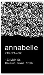 BCS-1107 - salon business card
