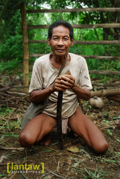 Hanunoo Mangyan Elder