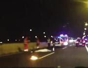 Il luogo dell'incidente e l'arrivo dei soccorritori