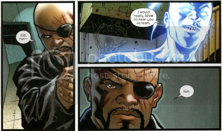 from Ultimate Spider-Man #5, by Bendis, Pichelli, Messina and Ponsor