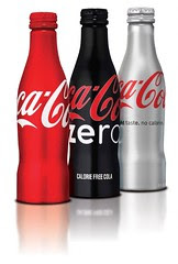 Coke Aluminum Bottles Giveaway