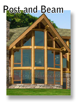 Log Home Building Styles Stacked Post And Beam And More