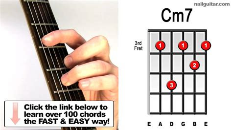 cm guitar chords lessons youtube