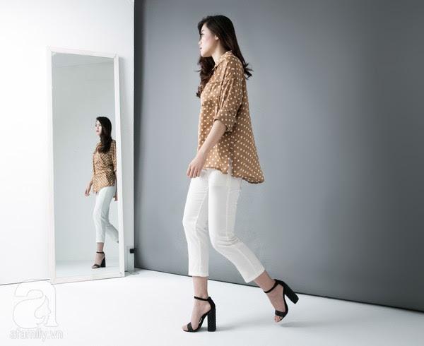 9 chiếc quần vải dưới 700 ngàn VNĐ cho nàng hông to & chân cong 14