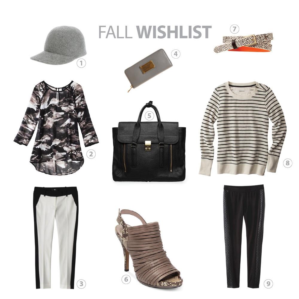 fall wishlist collage w labels