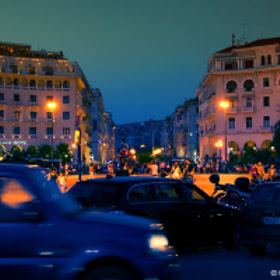 Thessaloniki By Night by Kostas Nianiopoulos (kostas124) on 500px.com