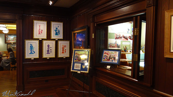 Disneyland Resort, Disneyland, Main Street U.S.A., Disneyana, Ink and Paint