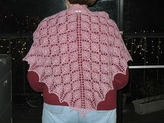 Mom and the Forest Canopy Shoulder Shawl