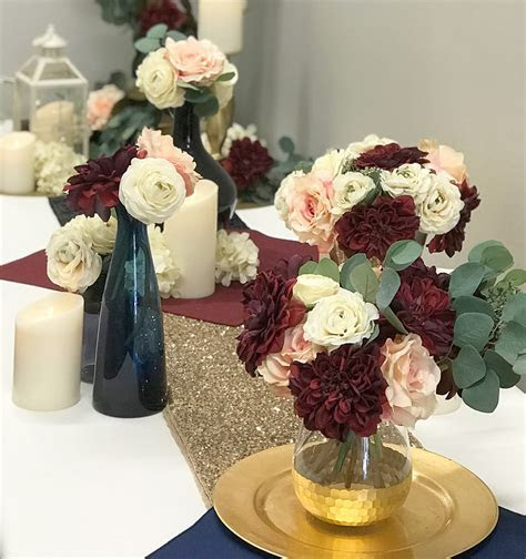 Trending Wedding Colors for 2018: Burgundy and Dusty