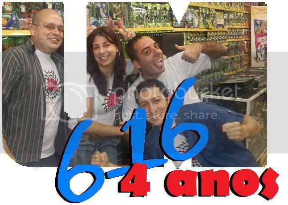 Marvel 616 quatro anos