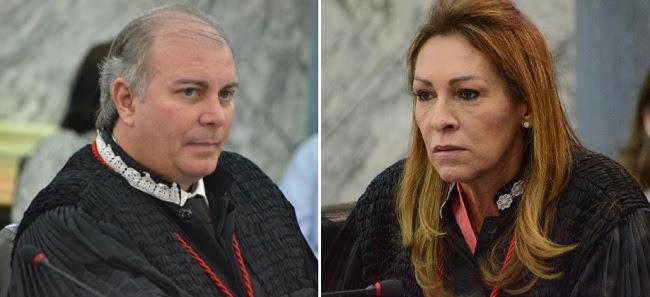 Desembargadores Fróz Sobrinho e Nelma Sarney