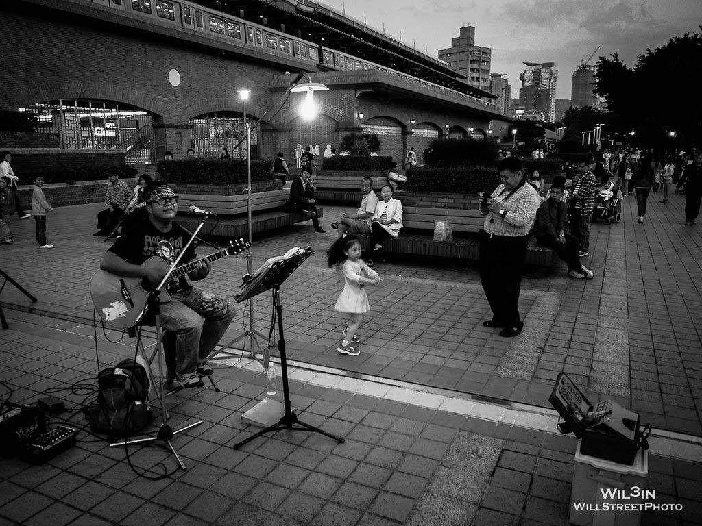 街頭的小舞者