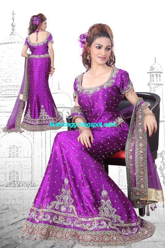 Indian Beautiful Bridal Lehenga Choli Dress For Brides