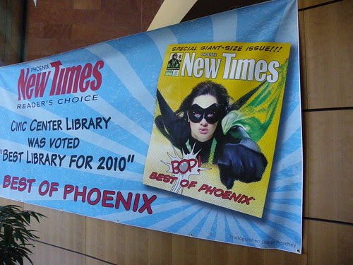 """Best library for 2010"" - Civic Centre Library, Scottsdale"