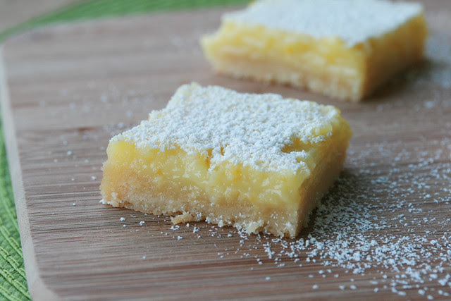 Whole Meyer Lemon Bars - Lemon Week 2011