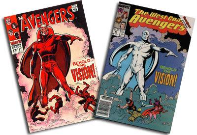 Avengers #57 and West Coast Avengers #45