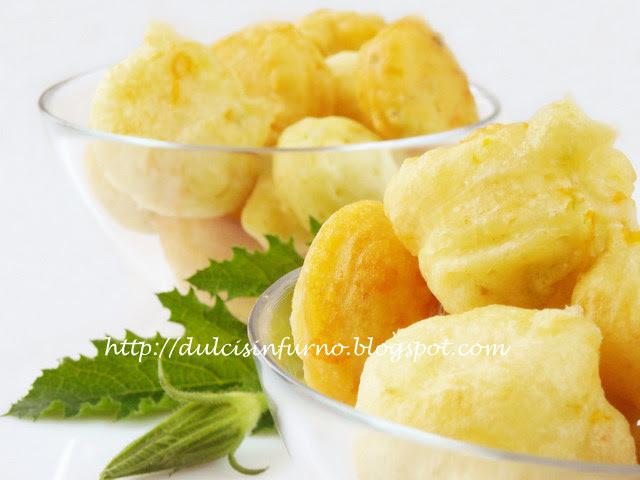 Frittelle ai Fiori di Zucca - Interno